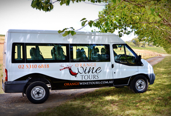 Orange Wine Tours Van