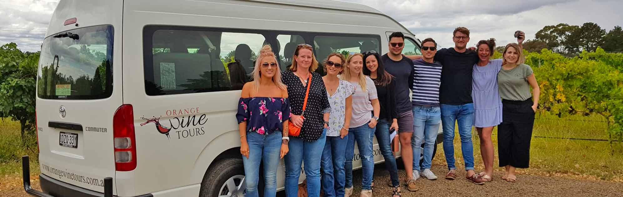 Tour with van
